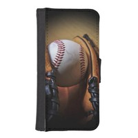 Case: Baseball Season Phone Wallet Cases