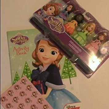 Sofia the First Princess and Friends Doll Set Stickers & Disney Activity Book