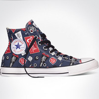 """Converse"" Fashion Canvas Flats Sneakers Sport Shoes High tops Print"