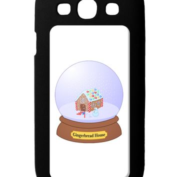 Little Gingerbread House Snow Globe Galaxy S3 Case  by TooLoud