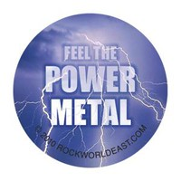 Heavy Metal Buttons - Feel The Power Metal