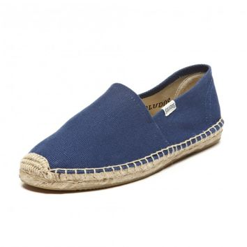 Dali - Navy Espadrilles for Men from Soludos - Soludos Espadrilles