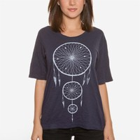 Poketo Dreamcatcher Boyfriend Tee - Women
