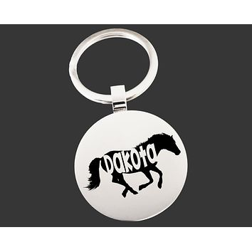 Horse Keychain   Horse Key Chain   Horse Lover Gifts