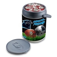 Picnic Time Carolina Panthers Can Cooler (Grey)