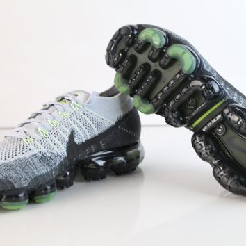 BC HCXX Nike Air VaporMax Flyknit E Heritage Pack Neon Pure Platinum Anthracite 922915-002 (NO Codes)