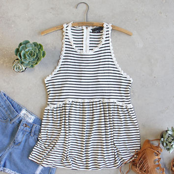 The Hideaway Stripe Tank