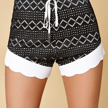Nightwalker Lace It Shortie Shorts at PacSun.com