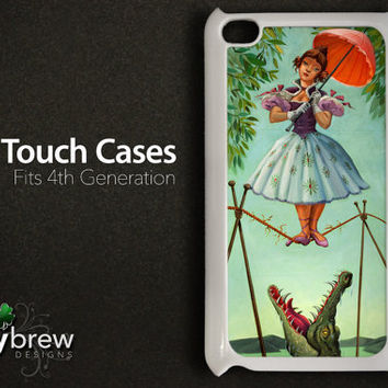 iPod Touch Case Cover - Haunted Mansion Painting 001 Tight Rope - 4 Gen Cover