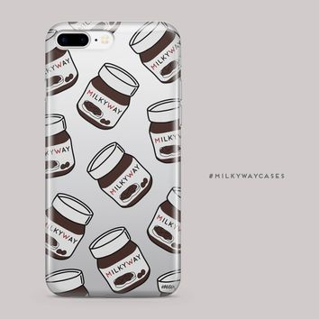 CLEARANCE iPhone 7 / 7 Plus Clear Case Cover - Milkyway Spread