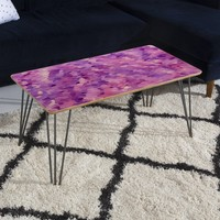Rosie Brown Purple Perfection Coffee Table