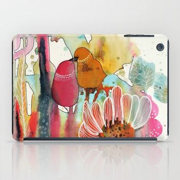 cheek to cheek iPad Case by sylvie demers