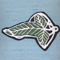 LOTR Elf Leaf 2-inch iron-on patch - Lord of the Rings