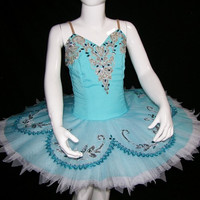 Ballet Tutu - Beautiful Light Blue Color Children's Performance Ballet Tutu