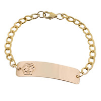 10K GOLD-FILLED CLASSIC BRACELET