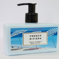 Bath & Body Works FRENCH RIVIERA Shea & Vitamin E Body Lotion 8 oz