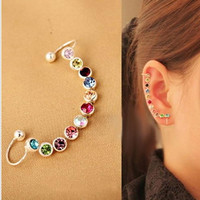 2017 Multi-Color Ear Cuff Clips Without Piercing