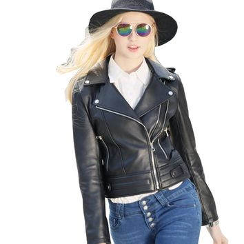 Real Leather Jacket for Women