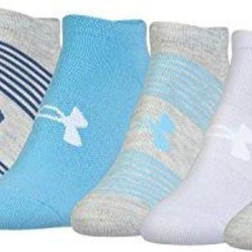 Under Armour Womens Essential Twist No Show Socks 6 Pack
