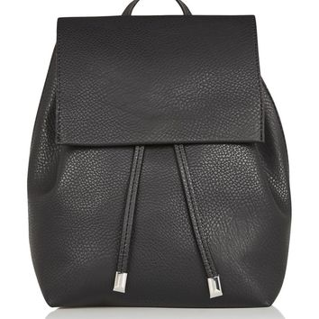 Topshop Chain Strap Mini Faux Leather Backpack | Nordstrom