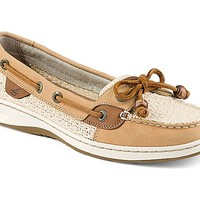 Angelfish Cotton Mesh Slip-On Boat Shoe