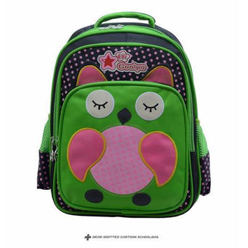 BACK TO SCHOOL Children Bags Cartoon Animal Pattern School Bags Backpacks Pupil Bags Mix Colors Best Gift For CHildren