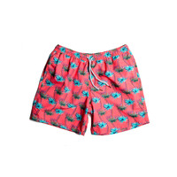 Estivo Trunks Palms Red
