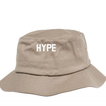 HYPE EMBROIDERY Bucket Hat