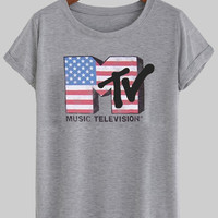 mtv flags shirt