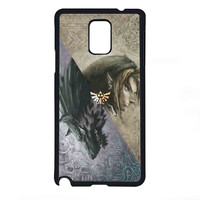 The Legend Of Zelda princess for Samsung Galaxy Note 4 Case *07*