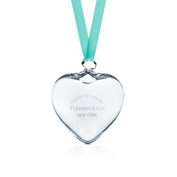 Tiffany & Co. - Return to Tiffany®:Heart Ornament