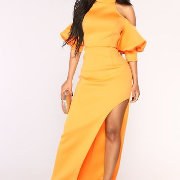 Sunshine Muse Dress - Yellow