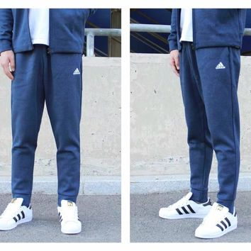 DCCK ADIDAS air layer pair with closed leg and small foot sweatpants