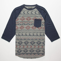 Retrofit Tribin' Mens Baseball Tee Gray  In Sizes