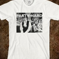 Party Hard Tee - Pop Culture Tees & Tanks