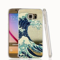 Samsung Galaxy S7 edge PLUS S8 S6 S5 S4 S3 #D Painting Cell Phone Cover