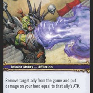 World of Warcraft Blood of Gladiators Single Card Dark Justice #70 Common [Toy]