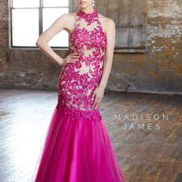 Madison James Prom 15-119 Madison James Lillian's Prom Boutique