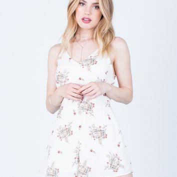 Daylight Floral Romper