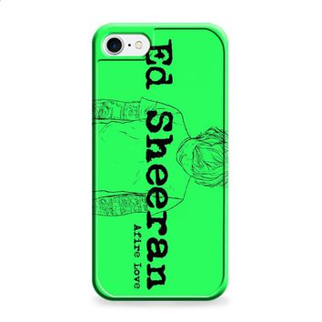 Ed Sheeran Afire Love iPhone 6 | iPhone 6S case