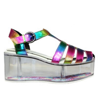 Rainbow CHARii Platforms by YRU