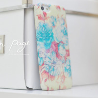 apple iphone case : vintage flowers