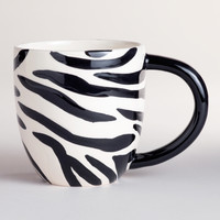 Kids Zebra Surprise Mugs, Set of 2 - World Market