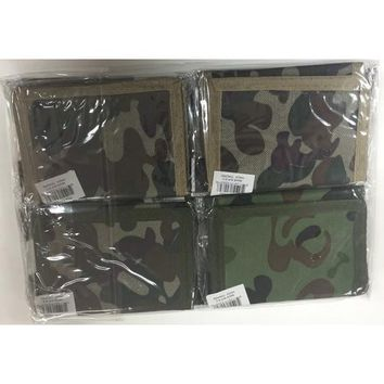 Camouflage Velcro Wallet