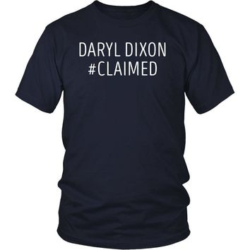 The Walking Dead T Shirt - Daryl Dixon #Claimed - TV & Movies