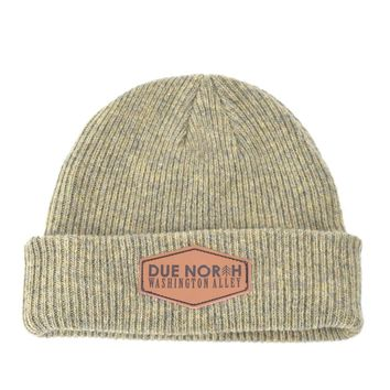 DUE NORTH BEANIE - LIGHT OLIVE