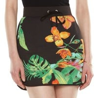 Juicy Couture Print French Terry Skirt - Women's, Size: