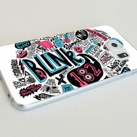 Band Collage Blink 182 Custom Case for Samsung Galaxy S4 S5 S6 (Samsung Galaxy S6 white)