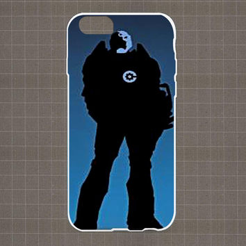 DC Marvel Heroes Silhouette 07 iPhone 4/4S, 5/5S, 5C Series Hard Plastic Case