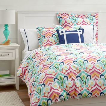Kennedy Paisley Quilt Sham From Pbteen Decor